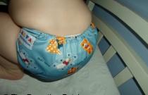 Blue Stuffed Animals Alva Baby F Series: Daily Diaper