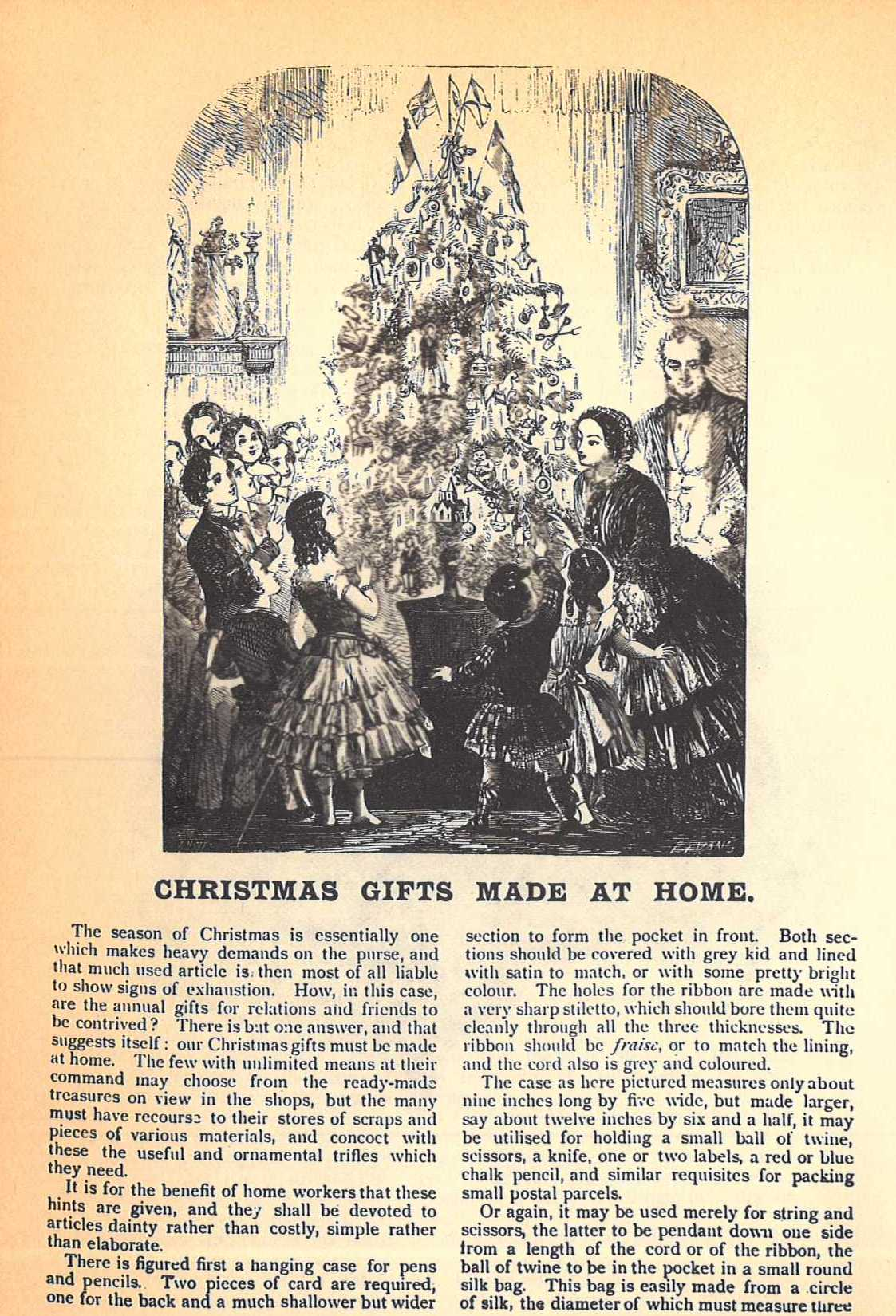 Victorian Christmas Gifts Made at Home | Parenting Patch