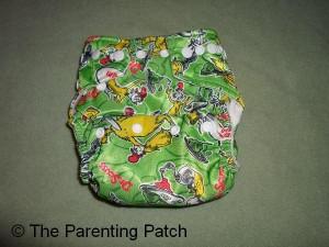 Green Eggs and Ham Bumkins Cloth Diaper 1