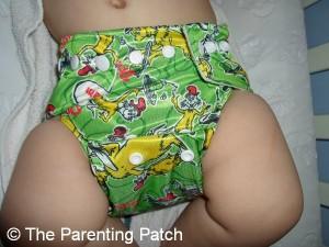 Green Eggs and Ham Bumkins Cloth Diaper 3