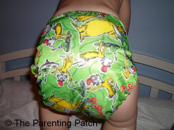 Green Eggs and Ham Bumkins Cloth Diaper 7