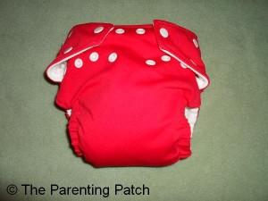 Watermelon FuzziBunz Cloth Diaper 1