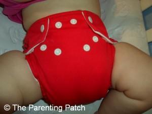 Watermelon FuzziBunz Cloth Diaper 3