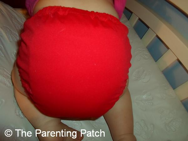 Watermelon FuzziBunz Cloth Diaper 5