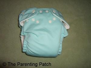 Tootie Frootie FuzziBunz Cloth Diaper 1