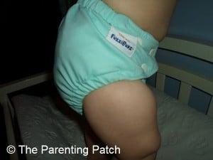 Tootie Frootie FuzziBunz Cloth Diaper 7