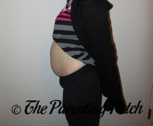 Heather Pregnant 10 Weeks 3 Days