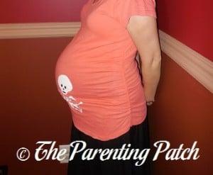 Heather Pregnant 34 Weeks 2 Days