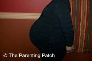 Baby Bump Week 36 of Pregnancy 1