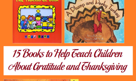 15 Books to Help Teach Children About Gratitude and Thanksgiving