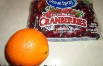 Making Orange Cranberry Sauce: Wordless Wednesday Holiday Edition