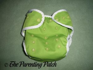 Front of Key Lime Pie Best Bottom Diapers Cover 2