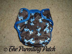 Blue Giraffe Best Bottom Diapers 1