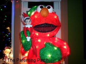 The Elf on Elmo