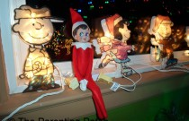 The Elf with the Peanuts Gang: The Elf on the Shelf Day 3