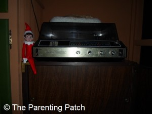 The Elf on the Record Player