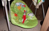The Elf on the Baby Swing: The Elf on the Shelf Day 5