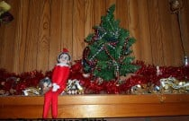 The Elf on the Mantel: The Elf on the Shelf Day 6