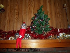 The Elf on the Mantel