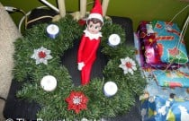 The Elf on the Advent Wreath: The Elf on the Shelf Day 10