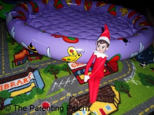 The Elf by the Baby Pool