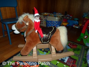 The Elf on the Rocking Horse