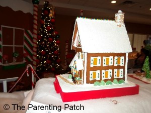 Two-Story Gingerbread House