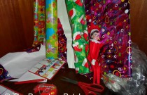 The Elf on the Wrapping Paper: The Elf on the Shelf Day 15