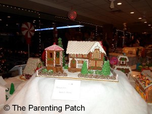 Gingerbread House and Gazebo
