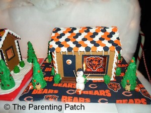 Bears Gingerbread House