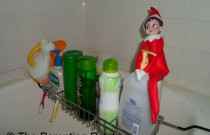 The Elf on the Baby Shampoo: The Elf on the Shelf Day 16