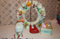 December Baby Shower Decoration Idea: Day 17 of 25 Days of Christmas