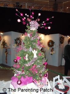 Pink and Light Pink Christmas Tree