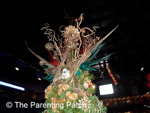 Brown Feather Christmas Tree Topper