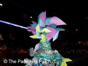 Pinwheel Christmas Tree Topper