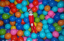 The Elf in the Ball Pit: The Elf on the Shelf Day 20