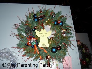 Chicago Bears Christmas Wreath