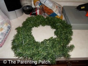 Undecorated Wreath