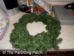 Undecorated Wreath