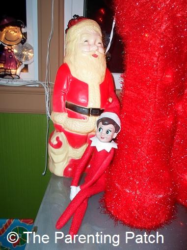 The Elf Returns to Santa