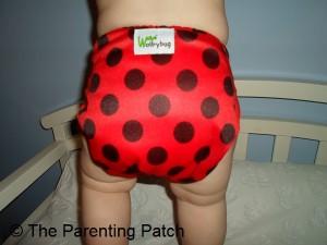 Ladybug WolbyBug Cloth Diaper 8