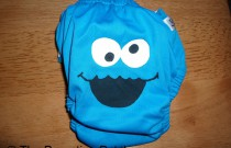 Cookie Monster Diaper Design: From Poppy Cloth by The Parenting Patch