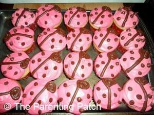 Ladybug Cupcakes 2