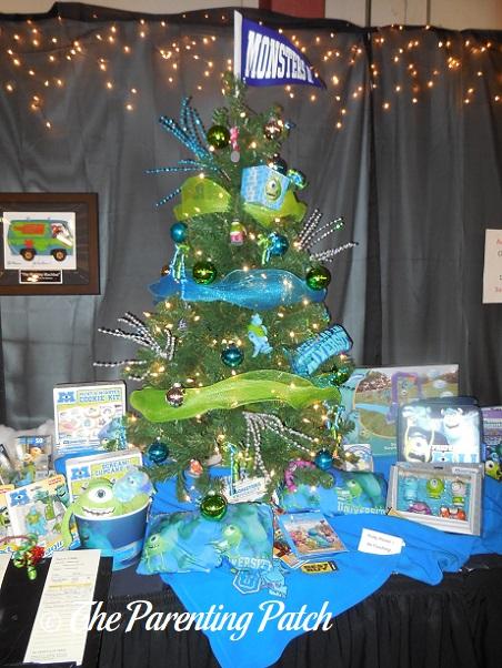 Monsters Inc Christmas Tree