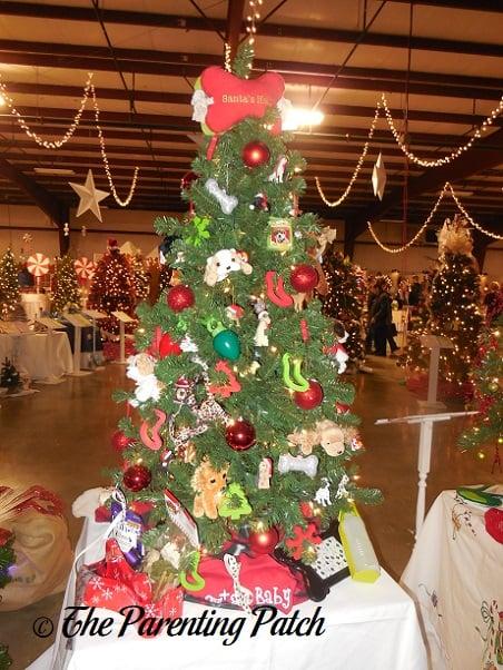 Puppy Dog Christmas Tree