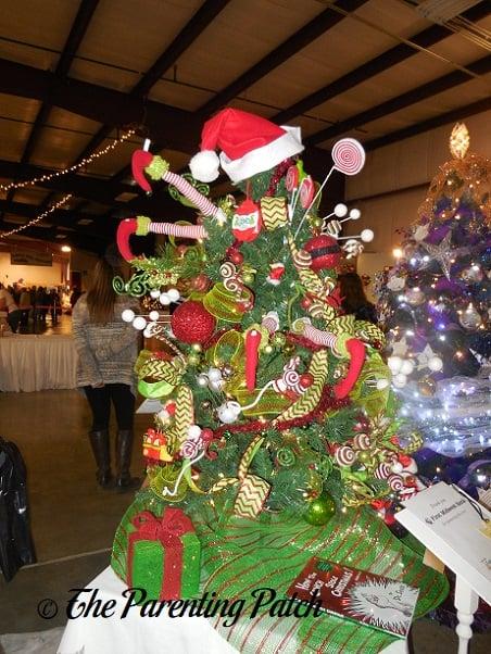 Small Grinch Christmas Tree
