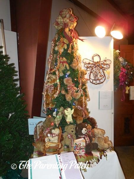 Teddy Bear Christmas Tree