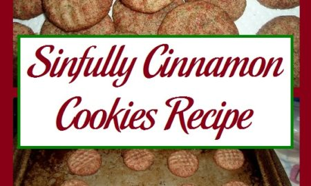Sinfully Cinnamon Cookies Recipe