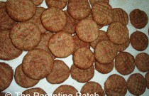Baking Sinfully Cinnamon Cookies for Christmas