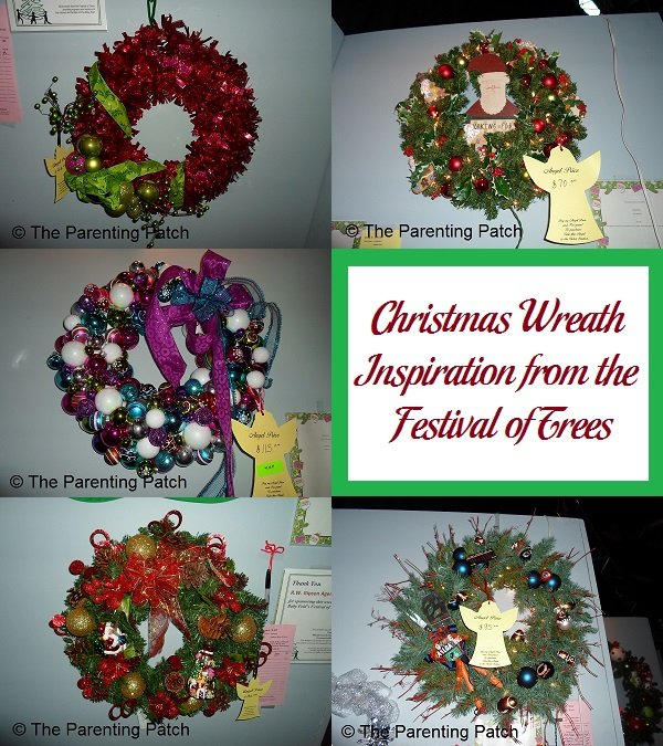 Christmas Wreath Inspiration from the Festival of Trees